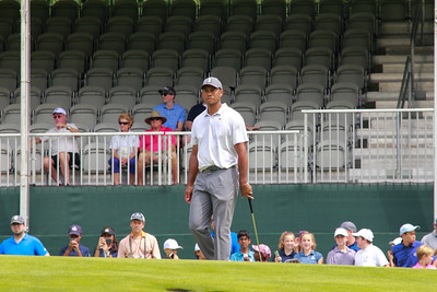Tiger Woods Practice Rounds at the PGA Golf Northern Trust