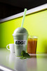 Chanhassen, MN - SWM_0313_2267_The_Edge:  The Edge, in Chanhassen, features a St Patricks Day drink called the Shamrock Mint Shake with nutrition ingredients here today, Thursday January 31, 2013.  Date: Thursday January 31, 2013.  Photo by © Todd Buchanan 2013 Technical Questions: todd@medmeetingimages.com; Phone: 612-226-5154.