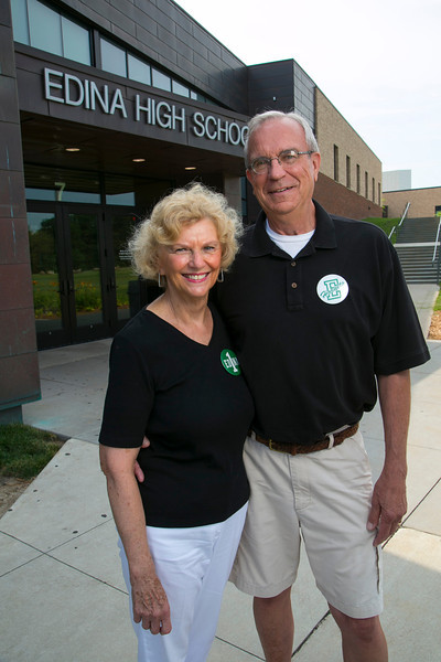 Chaska, MN - EDM 0912 Jensens - Tiger Oak - Bud and Jinny Jensen were teachers at Edina High school for over 30 years. The two are now retired. Photo by © Todd Buchanan 2012 Technical Questions: todd@toddbuchanan.com;