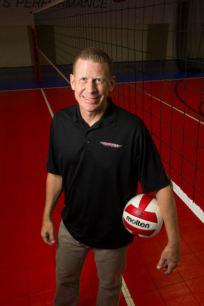 Maple Grove, MN - MGM 1112 - Tom Fugelstad is a volley ball coach here today, Wednesday September 19, 2012.  Date: Wednesday September 19, 2012 Photo by © CorporateEventImages/Todd Buchanan 2012 Technical Questions: todd@toddbuchanan.com; Phone: 612-226-5154.