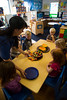 Plymouth, MN - PLM 1112 - Farm 2 - Plymouth New Horizon helps children learn about different fruits and vegetables and farming by raising some of their vegetables and learning from local farmers in their daycare center.  Wednesday September 26, 2012.  Date: Wednesday September 26, 2012 Photo by © Todd Buchanan 2012 Technical Questions: todd@toddbuchanan.com; Phone: 612-226-5154.