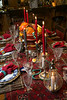 Shorewood, MN - MTK 1212 NYE - Job#11062 - Kay and Jerry Martin love to entertain. They have a New Year's Eve club of five couples, and every year all 10 of them have a party together. For Kay, the first step is to pick a theme. This year it was Turkish as they had visited Turkey earlier this year. here today, Wednesday, October24, 2012. Photo by © Todd Buchanan 2012 Technical Questions: todd@toddbuchanan.com; Phone: 612.226.5154