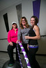 "Chanhassen, MN - SWM 1212 Fitness - Job#11041 - Jaime (sp) Wallis (in magenta) and Katy Keeler (grey top and glasses) know how hard it can be to make a lifestyle change. The two women, who met in a book club, teamed up to lose weight and train for a half-marathon. After months of running together once a week and texting each other through at-home treadmill workouts, Wallis lost 90 pounds and Keeler lost 35.  And in July, Wallis and Keeler teamed up with Kitty DesJardiens (sp) to share their enthusiasm for fitness by opening Bring It! Studios in Chanhassen. The new workout facility offers trendy, fun fitness classes, including Zumba, Barre, Funk, Step, Kickboxing and ""Atomic Abs."" here today, Sunday, October28, 2012. Photo by © Todd Buchanan 2012 Technical Questions: todd@toddbuchanan.com; Phone: 612.226.5154"