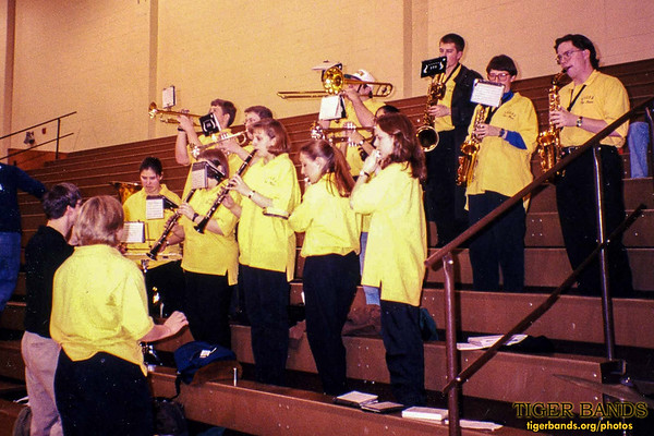 Tiger Pep Band Lights Up Lilly Center for DePauw Basketball