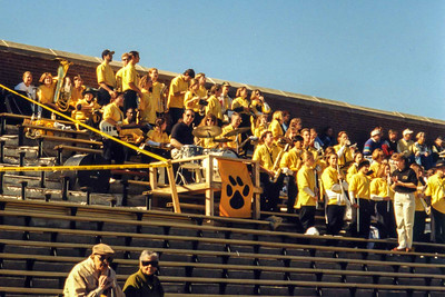 Tiger Pep Band Cheers Another Old Gold Victory