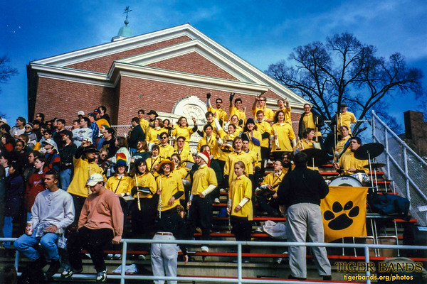 Tiger Pep Band Travels to Wabash to Bring Home the Monon Bell