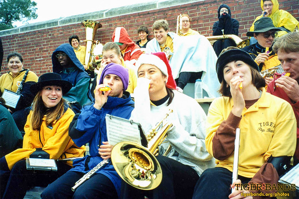 Tiger Pep Band Boosts DePauw to Another Victory