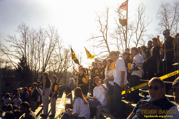Tiger Pep Band Helps Keep The Monon Bell at Home in Greencastle