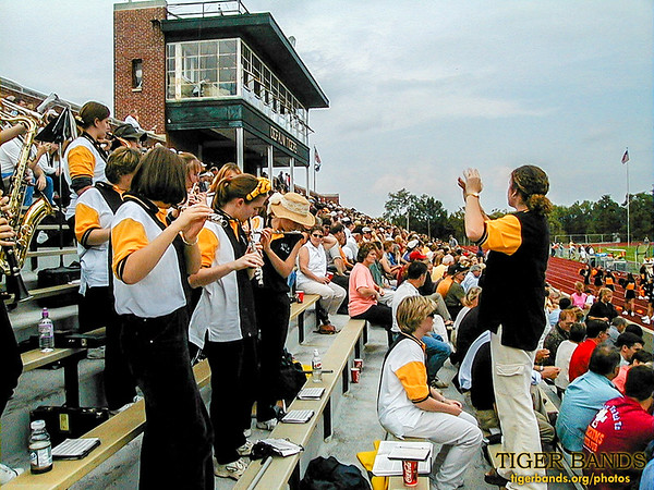 Tiger Pep Band Welcomes All to Family Weekend