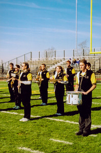 Tiger Pep Band Takes the Field at the Battle for the Monon Bell