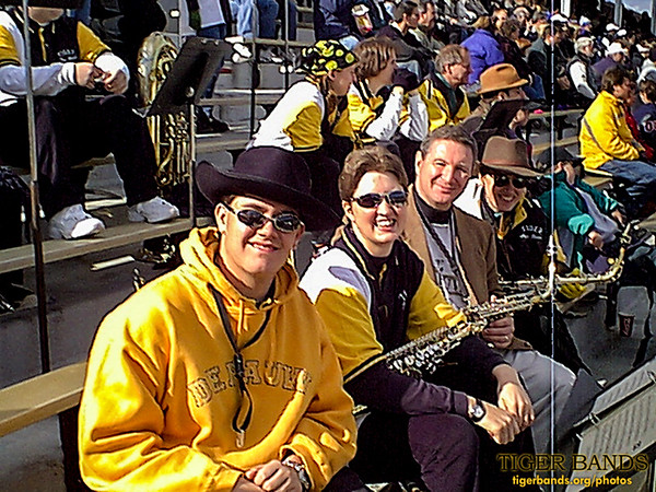Celebrating Old Gold With the Tiger Pep Band