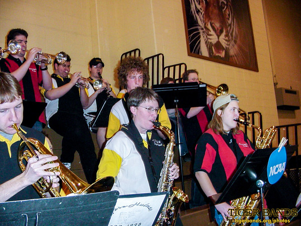 Tiger Pep Band and Rose Pep Band Are At It Again!