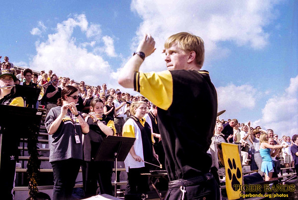 "Director Daniel M. Reck '03 Conducts Our Alma Mater, ""A Toast to DePauw"""