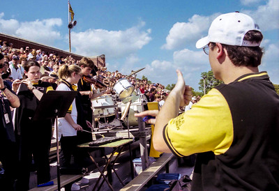 Director David Ziemba '03 Leads the Tiger Pep Band