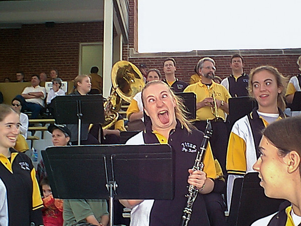 Tiger Pep Band and Tiger Alumni Bands Celebrate Old Gold Weekend