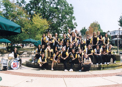 The Tiger Pep Band at DePauw University