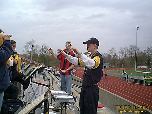 Tiger Pep Band and Rose Pep Band Join Forces in Greencastle