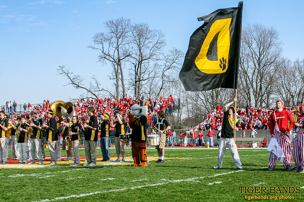 Tiger Pep Band at the Battle for the Monon Bell
