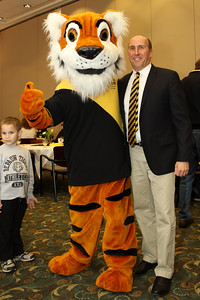 President Casey and Tyler the Tiger!