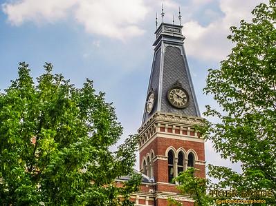 East College Clock