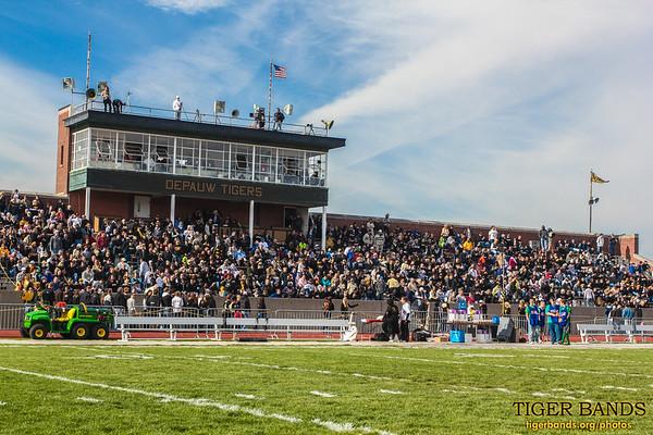 It's a Full Crowd at Blackstock Stadium