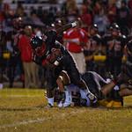 PRP\'s Daniel Parker (21) escaped a tackle.