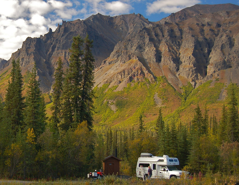 Overnight on the Denali Highway, Yukon