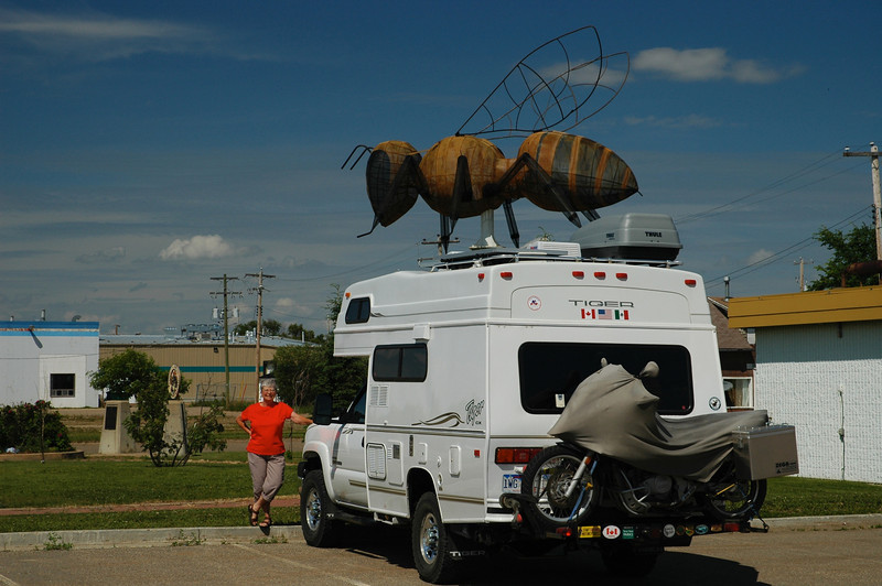 Ya gotta watch out for the bugs in Alberta