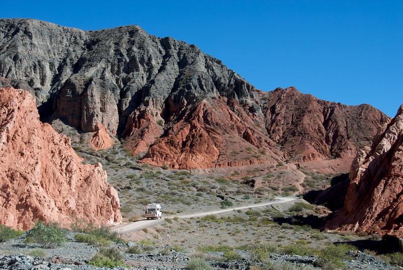 A broader view of Paseo de los Colores