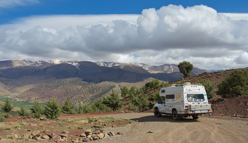 There are plenty of well graded pistes to explore in the Atlas mountains