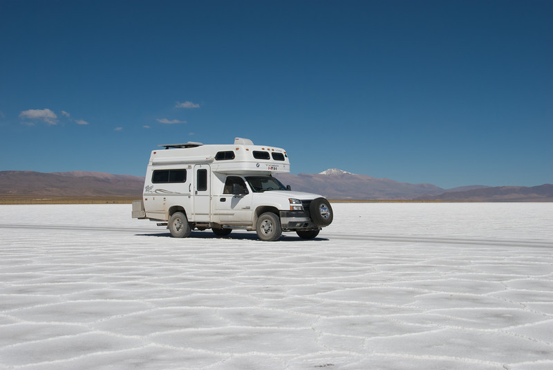 They also have salt flats