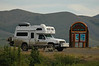 Crossing the Arctic Circle on the Dempster Highway, Yukon