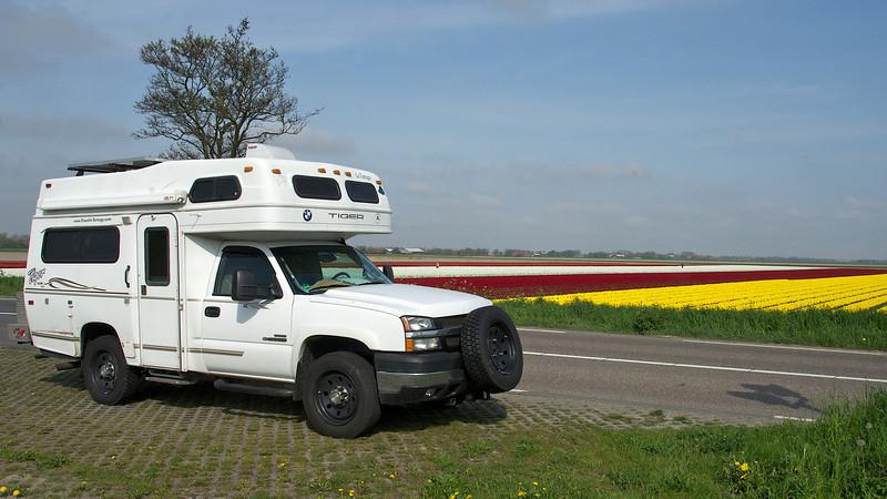 "April 2012: Tiger sports new Rickson 19.5"" wheels in Holland"