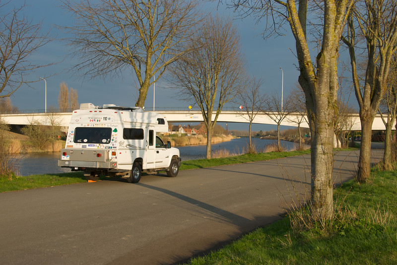 April 2010, Tiger in Belgium, Note European trim with no rear spare or step ladder.