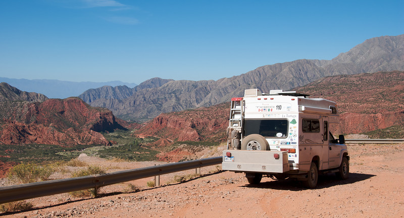 They have real red rock canyons in northwest Argentina.  Just like Utah...