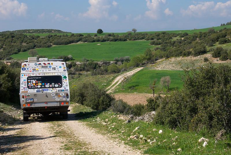 Back road wandering, western Turkey