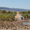Pentecost River crossing on the famed Gibb River Road, Western Australia.
