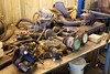Here are some of the many chassis parts that were replaced as we look ahead to perhaps another 100k miles of overseas travel.  Most of the parts replaced were in the areas of steering, brakes and suspension.