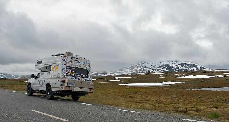 On 'the Wilderness Road', Sweden