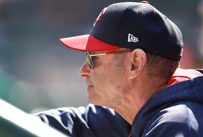 . Minnesota Twins manager Paul Molitor watches from the dugout during the seventh inning of a baseball game against the Detroit Tigers, Wednesday, April 12, 2017, in Detroit. (AP Photo/Carlos Osorio)