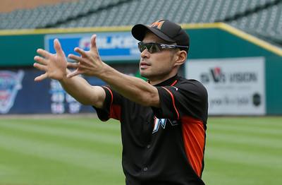 Marlins Tigers Baseball