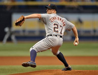 CORRECTION Tigers Rays Baseball