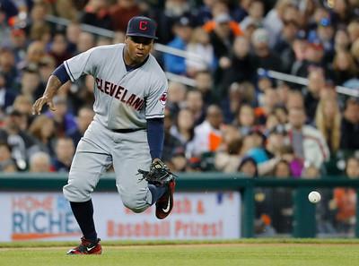 Indians Tigers Baseball