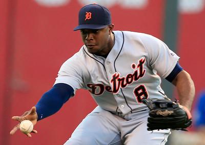 APTOPIX Tigers Royals Baseball