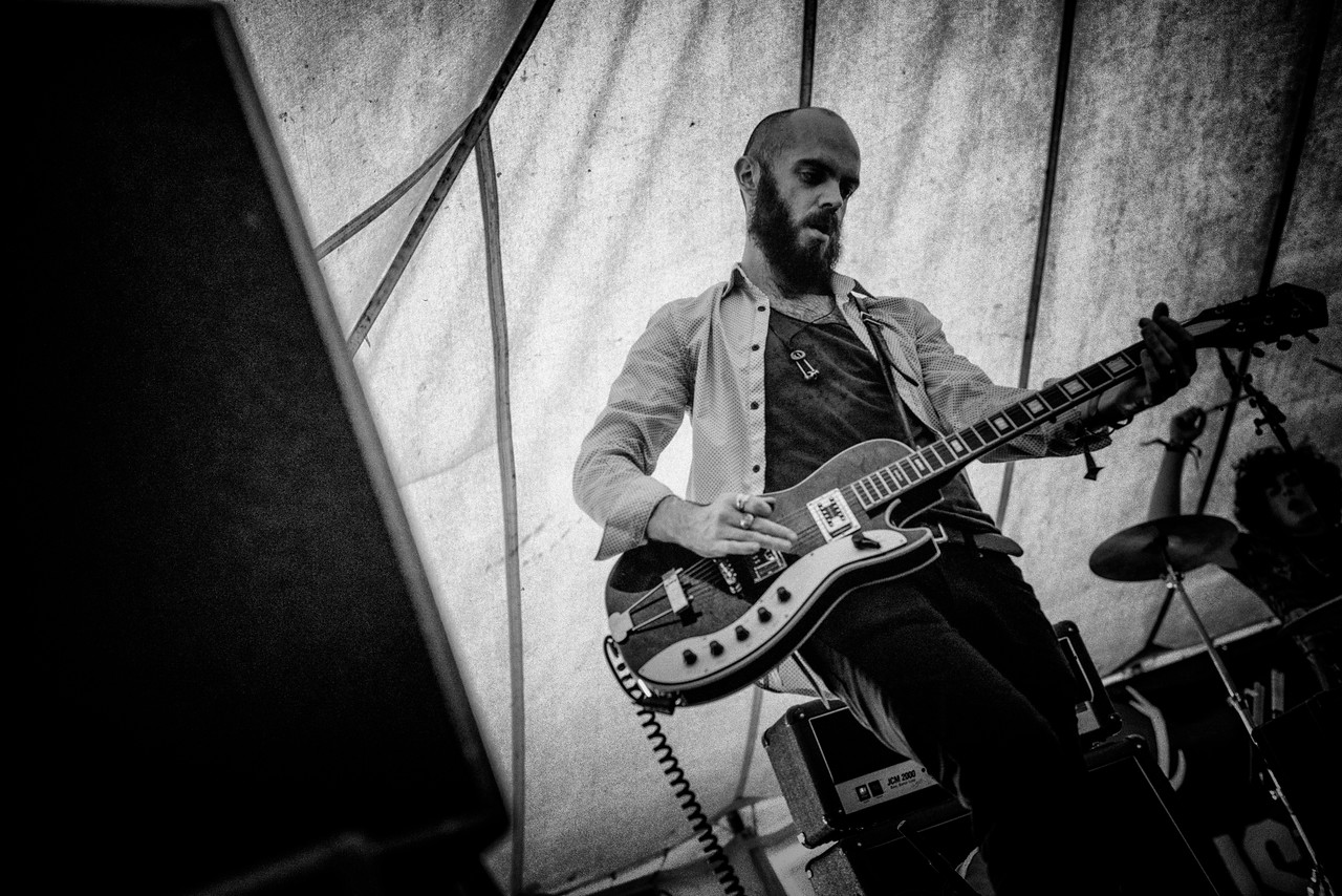 Tijuana Bibles Performing at Wickerman Festivlal 2014