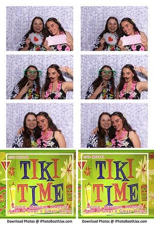 Tiki Time Grad Party