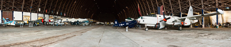 Hangar panorama