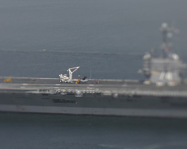 Tiny USS John C. Stennis, San Diego, May 2008