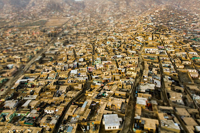 Kabul Neighborhood Aerial