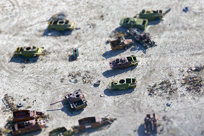 Soviet Armored Vehicle Graveyard